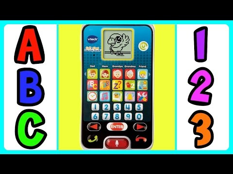 Learn ABC Alphabet with VTECH Call & Chat Learning Phone! ABC Alphabet Video For Kids & Babies!