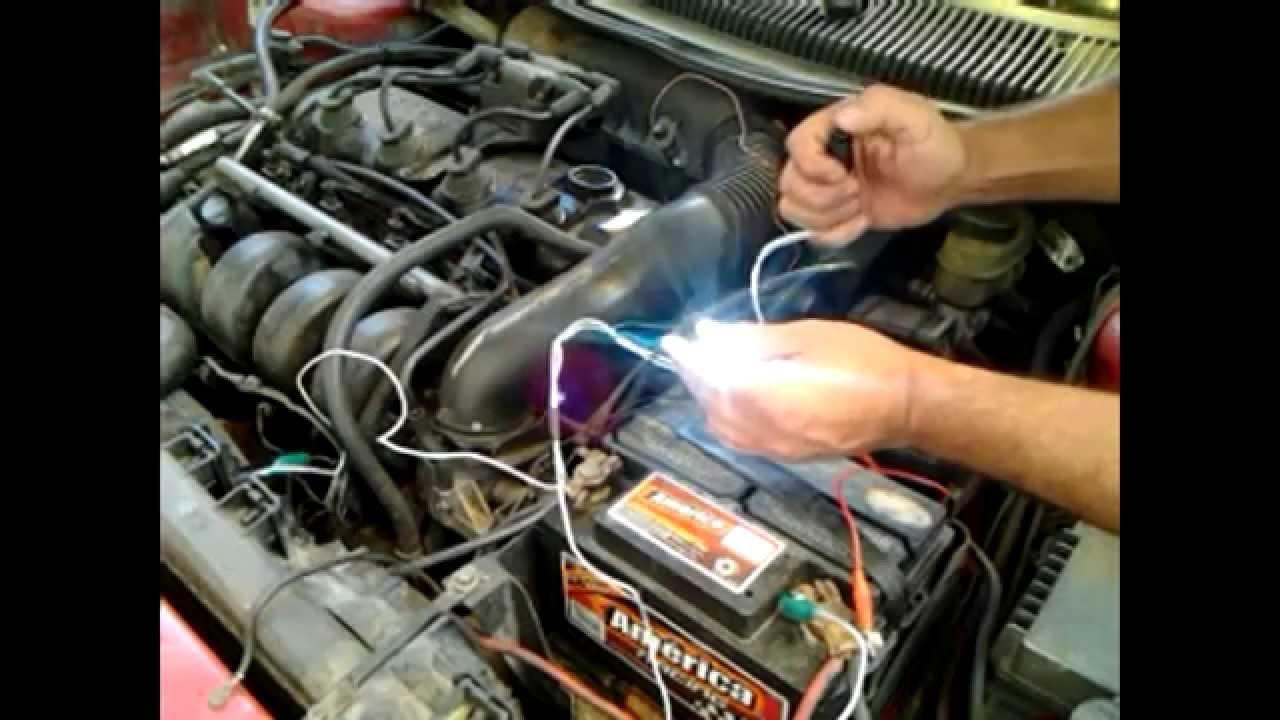 Como probar pulsos a bobina de encendido con led probador de pulsos de inyeccion youtube