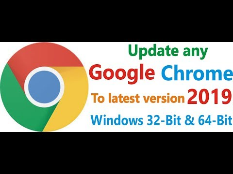 Update Any Google Chrome To Latest Version 2019