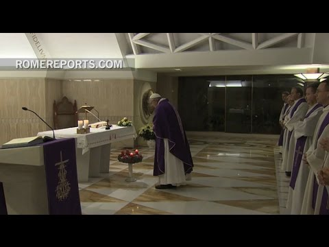 Pope Francis: When priests are rigid they are separated from the people