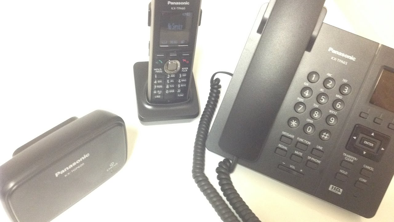 small resolution of panasonic cordless multi line phone system