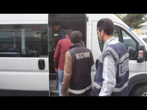 FETÖ'den Gözaltına Alınan 9 Hakim Ve Savcı Adliyeye Sevk Edildi