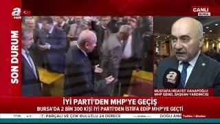 İYİ Parti'den 2300 Kişi İstifa Edip MHP'ye Geçti!