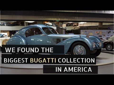 WE FOUND THE BIGGEST BUGATTI COLLECTION IN AMERICA