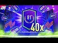 40 X 81+ 2 PLAYER UPGRADE PACKS! INSANE PULLS!! | FIFA 19 ULTIMATE TEAM PACK OPENING!