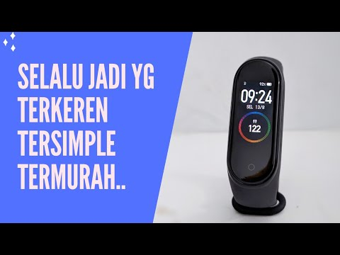 XIAOMI Mi band 4 - UNBOXING REVIEW FULL SETUP