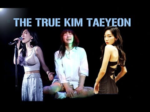 The two sides of Taeyeon☯ (Real...