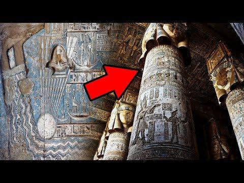 !Versteckte Botschaft Im Alten Ägyptischen Tempel Entdeckt!