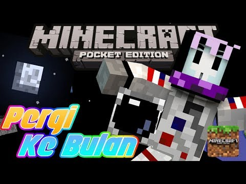 JADI ASTRONOT?! MCPE | Minecraft Pocket Edition Indonesia | Apollo 18