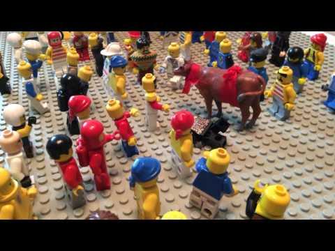 Kombu Vacha Singamda - Jallikattu - LEGO MOVIE
