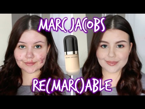 First Impressions | Marc Jacobs Remarcable Foundation (Oily/Acne)