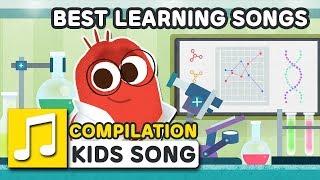 BEST LEARNING SONGS | 30MIN | LARVA KIDS | SUPER BEST SONGS FOR KIDS