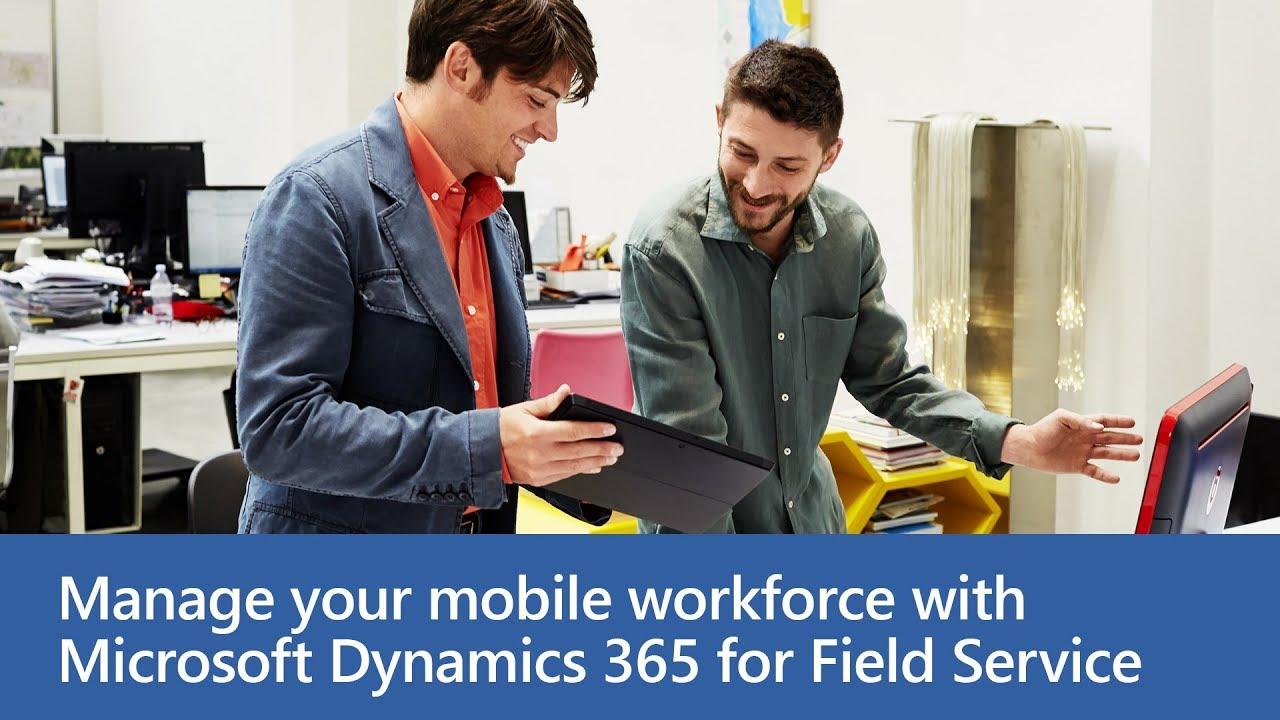 Dynamics 365 for Field Service - Technician Location