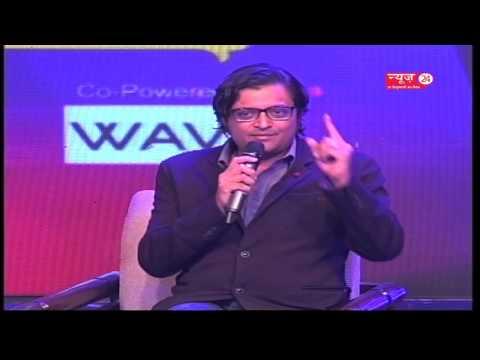 Manthan2017 : ISOMES Media Fest24 || Arnab Goswami || Manak Gupta ||