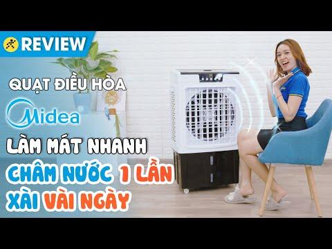 Quạt điều hòa Midea: làm mát nhanh, bình chứa nước 45 lít (AC375-19CRH) • Điện máy XANH