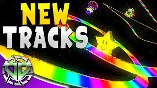 NEW TRACKS!  RAINBOW ROAD, NURBURGRING, and MORE! : Car Mechanic Simulator 2018 Gameplay
