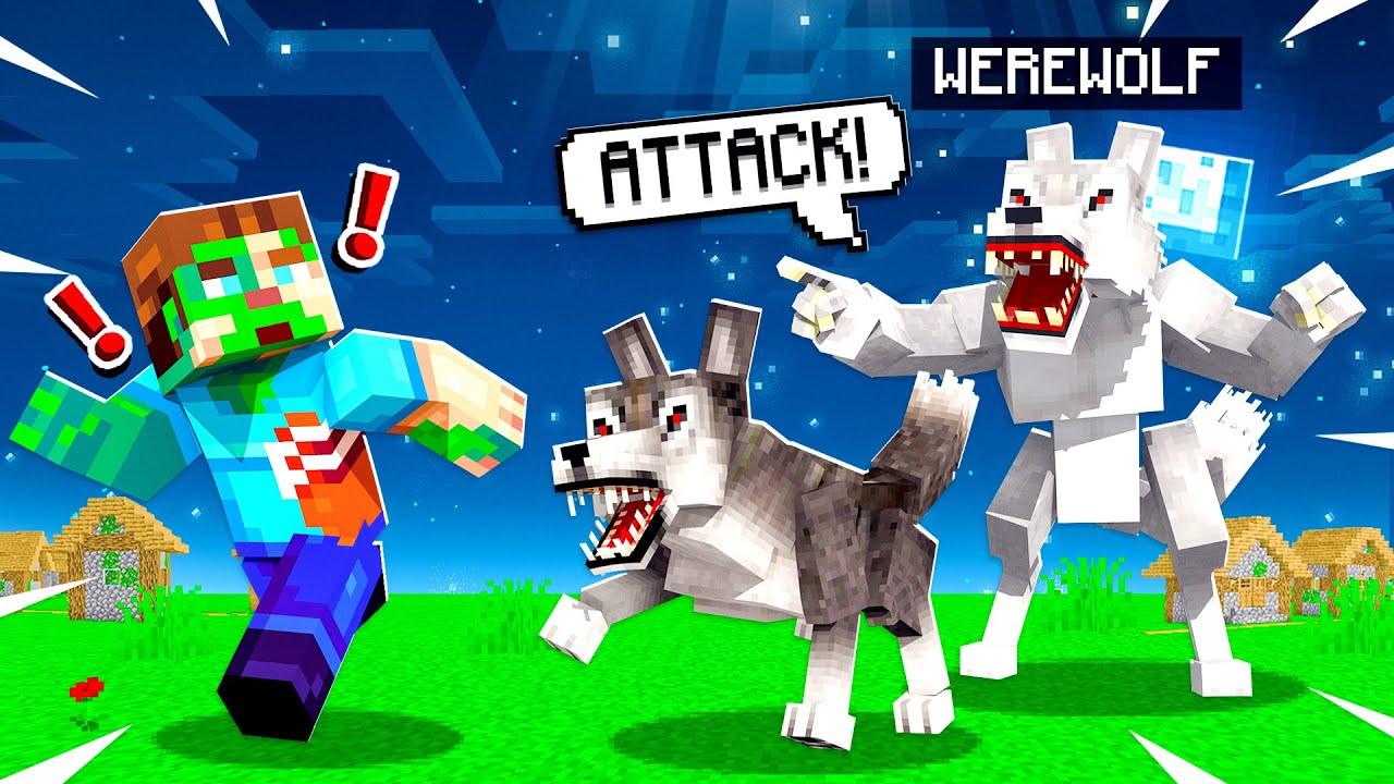 I Secretly Added the Werewolf Mod to Minecraft...
