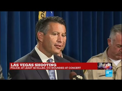 Las Vegas Shooting: Nevada Governor Brian Sandoval addresses the press