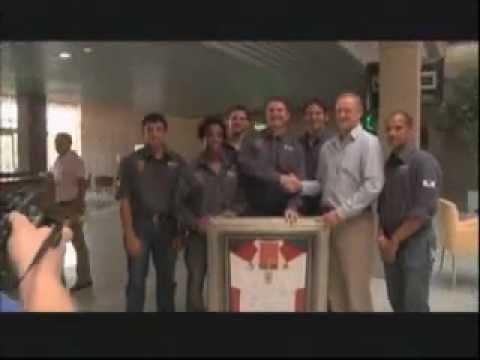 Highveld Lions visit Senwes Head Office