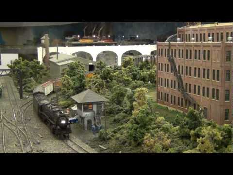 Lehigh & Hudson River at Sure Fit (L&KV Model Railroad)