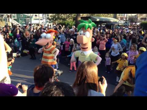 """Welcome to Tokyo""  from the last Phineas and Ferb Dance Party"
