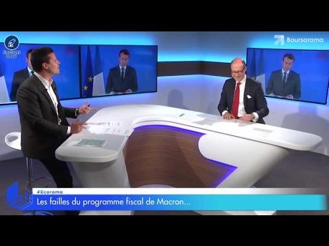 Impôts : les failles du programme de Macron...