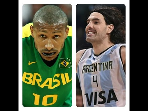 Argentina vs. Brazil Olympic Basketball FULL Highlights