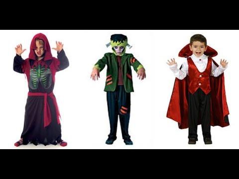 Disfraz De Halloween Para Niño Youtube