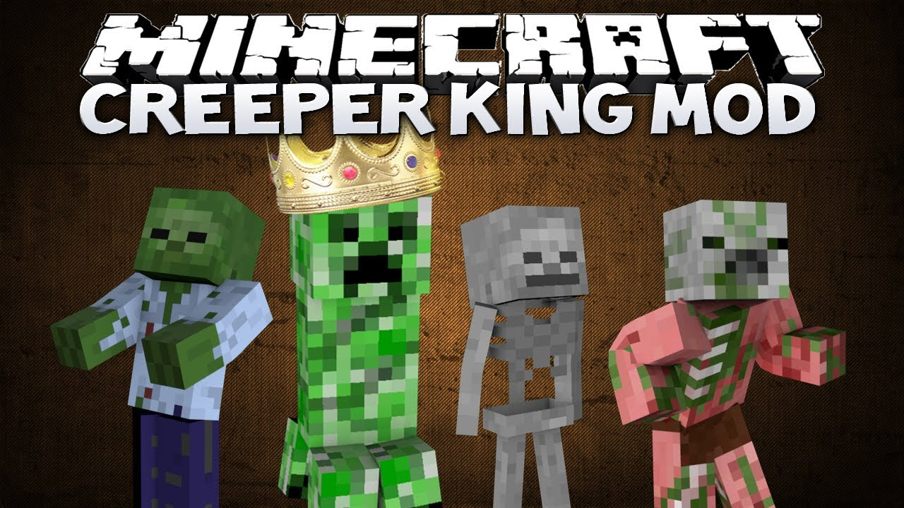 Minecraft Creeper Mod Minecraft Creeper King Mod