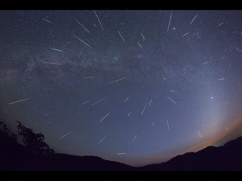 Live: Spectacular Perseids meteor shower in Alabama