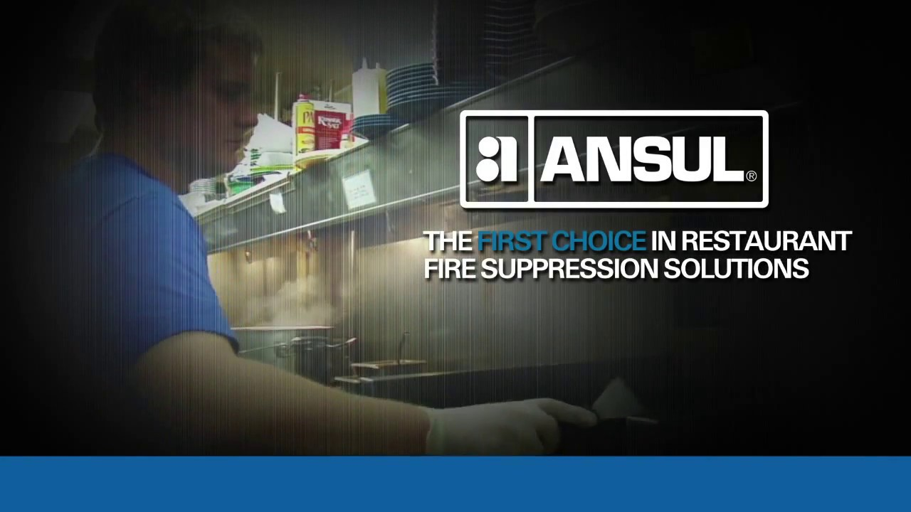 Ansul Kitchen Restaurant Fire Suppression Video