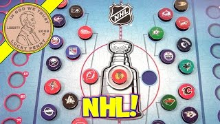 NHL Standings Board, Track all 30 Teams to the Playoffs! CSE Games