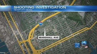 Police: Woman shot in head on Marshall Avenue in Newport News