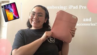 iPad Pro 2020 and accessories UNBOXING