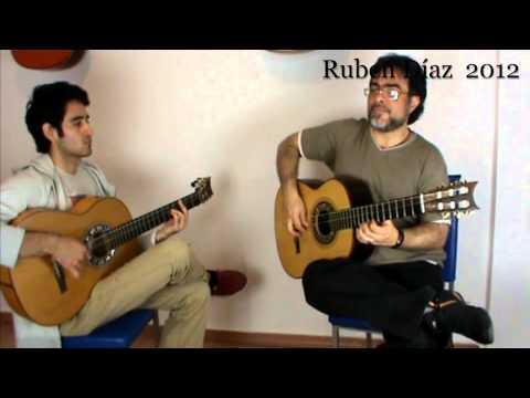 Exploring Melodies (6) Over the Andalusian Cadence Em / Ruben Diaz Flamenco Guitar Lesson CFG Malaga