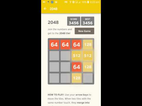 How to hack 2048