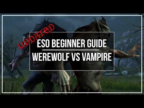 ESO Werewolf vs Vampire (In Depth) - Dottz Gaming
