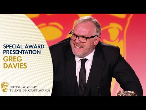 Greg Davies' Hilarious Special Award Presentation Speech | BAFTA TV Craft Awards 2019