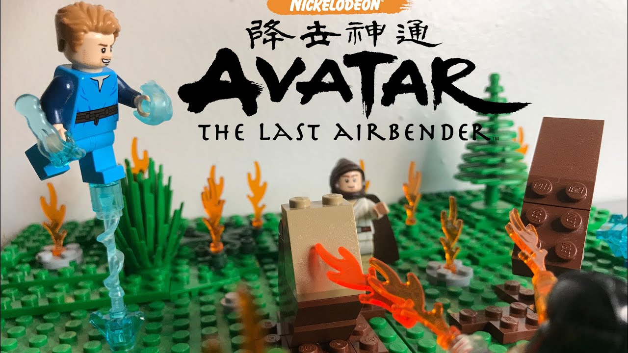 Lego ATLA Moc Fire Nation attack
