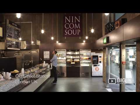 Nincomsoup Vegan Restaurant in London UK serving Vegetarian Meals and Soup