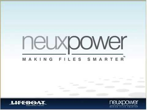 Neuxpower: Fight Storage Bloat with Permanent Data Reduction Software from Neuxpower