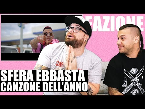 SFERA EBBASTA X RVSSIAN - PABLO | RAP REACTION 2018