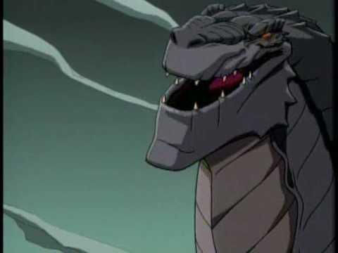 Godzilla The Series Monster Wars DVD