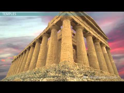 Ancient Greek Architecture: Dorian, Ionic & Corinthian