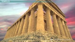 Ancient Greek Architecture: Dorian, Ionic & Corinthian