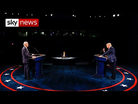 Trump v Biden: The Final Debate