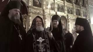 Постриг в Великую схиму архимандрита Сильвестра (Кулькова)