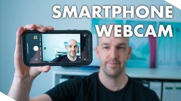 Smartphone als Webcam nutzen Tutorial - Handy als Webcam am PC nutzen USB