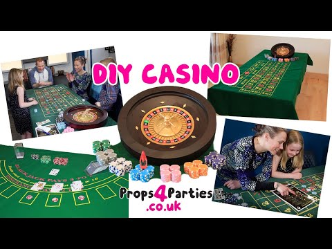 ♠️♥️ DIY Casino Hire. Home Casino Party♦️♣️