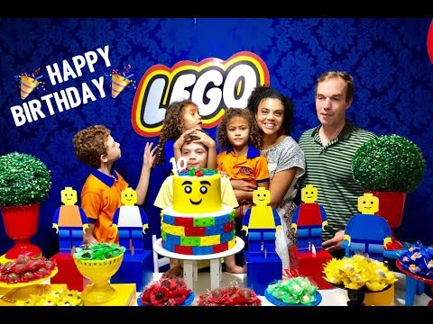 Lego Birtay Party